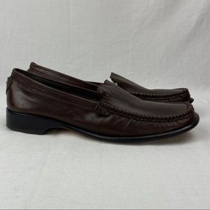 *Brighton Jay Brown Slid on Loafers Size 8.5